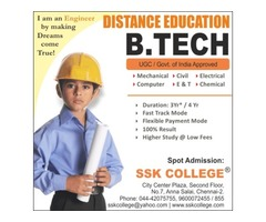 B Tech Distance Education