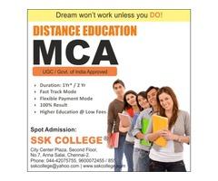 MCA Distance Education